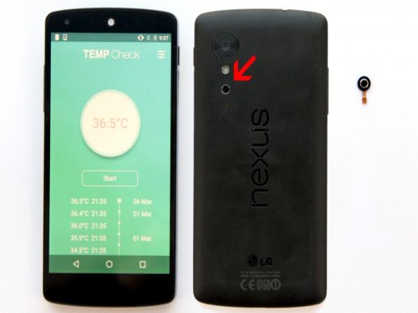 Modul Termometer Ini Memungkinkan Smartphone Untuk Mengukur Suhu Tubuh Manusia