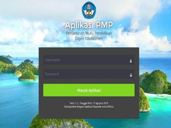 Panduan Penggunaan Aplikasi PMP (Penjamin Mutu Pendidikan) 2016