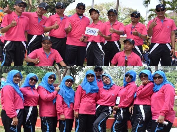 Tim Lomba Gerak Jalan Tingkat Umum SMK PGRI 1 MEJOBO KUDUS 2018