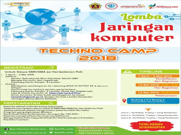 Techno Camp Competition 2018