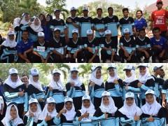 Tim Lomba Gerak Jalan Tingkat Pelajar SMK PGRI 1 MEJOBO KUDUS 2018